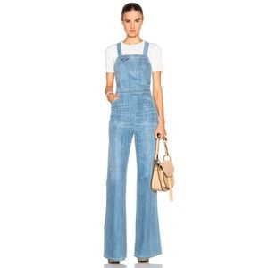 Citizens of Humanity Katie Flare Jean Overalls L